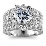 Mujer Soporte del anillo Anillos Anillo Zirconia CúbicaDiseño Básico Diseño Único Diamantes Sintéticos Geométrico Moda estilo de Bohemia