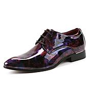 Muške Cipele Prava koža Ljeto Jesen Inovativne cipele Oksfordice Za Zabava i večer Crvena Zelen