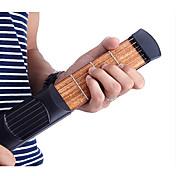 Guitarra acústica de bolsillo portátil Juguetes para principiantes 6 String 4 Fret Clásico 1 Piezas Regalo