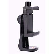カメラの三脚のプラスチック部分の携帯電話のホルダー