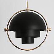 Estilo moderno de Europa del poste gire la lámpara de la lámpara de la cortina para el dormitorio / sala de estar / cantina / barra /