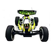 Coche de radiocontrol  WL Toys 2307 4 Canales 2.4G Off Road Car Alta Velocidad 4WD Drift Car Buggy Go-kart 1:24 KM / H Velocidades