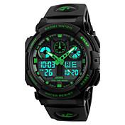 SKMEI Hombre Reloj Deportivo Reloj Militar Reloj de Moda Reloj de Pulsera Reloj digital Japonés Cuarzo Despertador Calendario Cronógrafo