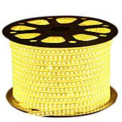 72W フレキシブルLEDライトストリップ 6950-7150 lm AC220 V 5 m 600 LEDの ウォームホワイト ホワイト ブルー