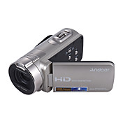 Andoer® hdv-312p 1080p full hd cámara de vídeo digital portátil de uso doméstico dv con 2,7 pulgadas de rotación lcd pantalla máx