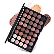 40 Paleta de Sombras de Ojos Seco Mate Brillo Mineral Paleta de sombra de ojosMaquillaje de Diario Maquillaje de Halloween Maquillaje de
