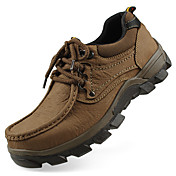 Hombre Zapatillas de Atletismo Confort Otoño Invierno Cuero real Cuero Nobuck Cuero de Napa Cuero Senderismo Deportivo Casual Con Cordón