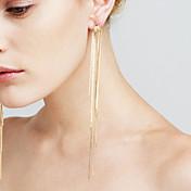 Mujer Pendientes Set La imitación de diamante Corazón Sexy Moda Euramerican joyería película Cobre Forma de Línea Joyas Para Boda