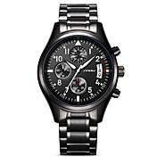 Hombre Para Hombre Reloj Deportivo Reloj Militar Reloj de Vestir Reloj de Moda Reloj de Pulsera Simulado Diamante Reloj Japonés Cuarzo