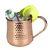 Taza de coctel plateada cobre del jugo del acero inoxidable del pavo 500ml