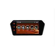 Pantalla táctil monitor de espejo retrovisor de coche mp5 de 7 pulgadas con bluetooth / fm / usb / tf tarjeta de apoyo 1080p reproductor