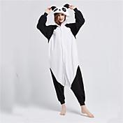 着ぐるみパジャマ パンダ 着ぐるみ パジャマ コスチューム フリース 黒、白 コスプレ ために 成人 動物パジャマ 漫画 ハロウィン イベント/ホリデー