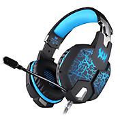 KOTION EACH G1100 Cinta Con Cable Auriculares Dinámica De Videojuegos Auricular Luminoso Con Micrófono Auriculares