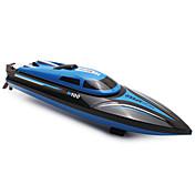 Barco de radiocontrol  WL Toys H100 Bote de carreras ABS 4 Canales 20 KM / H RTR