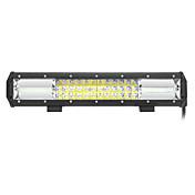 216w 21600lm 6000k llevado blanco combo 3-rows luz de trabajo para coche / barco / faro 9v-32v