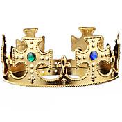 corona de cumpleaños de halloween rey montado joya gema engranaje de la cabeza traje de fiesta de disfraces de carnaval mascarada