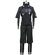 Inspirado por Tokyo Ghoul Ken Kaneki Animé Disfraces de cosplay Trajes Cosplay Color sólido Chaqueta Leotardo/Pijama Mono Pantalones Para