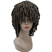 Szintetikus parókák Férfi afro Szőke Szintetikus haj Krokett raszta    Afro-amerikai paróka Szőke   15868103c9