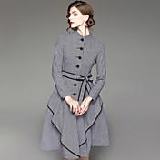 女性用 シャツ ドレス - プリント スタンド