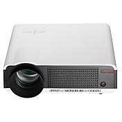 HTP LED86 LCD Proyector de Home Cinema LED Proyector 2800lm Android 4.4 Apoyo 1080P (1920x1080) 60''-120'' Pantalla / WXGA (1280x800) / ±15°