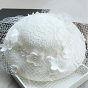 Mujer Algodón Sombrero Playero - Sombrero Tradicional / Retro Moderno Elegante Un Color