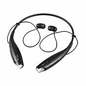 hbs-730 en el cuello del oído auriculares inalámbricos auricular de plástico dinámico del teléfono móvil con micrófono con auriculares de
