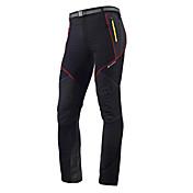 Nuckily Pantalones de Ciclismo Hombre Bicicleta Medias/Mallas Largas Pantalones/Sobrepantalón Prendas de abajo Ropa para Ciclismo