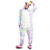Pijama kigurumi Caballo volador Unicorn Pijama Mono Pijamas Disfraz Franela Arco Iris Cosplay por Adulto Ropa de Noche de los Animales