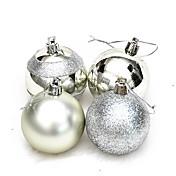 4pcs Navidad ornamentos de NavidadForDecoraciones de vacaciones 12*12*6
