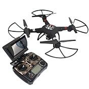 RC Dron WL Toys Q303-A 4 Canales 2.4G Con Cámara 720P HD Quadccótero de radiocontrol  Cámara Gran Angular Retorno Con Un Botón Flotar 360