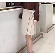 Mujer Sobre la Rodilla Faldas,Falda