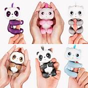 Juguete fidget Marioneta de Dedo Electrónico Juguetes Fingerling Panda Animales Bebé interactivo Bonito Sensor tactil Smart Touch Niño