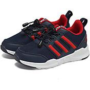 Chico Zapatos Tul Primavera Otoño Suelas con luz Zapatillas de Atletismo Paseo Con Cordón para Casual Azul Oscuro Negro Azul Real