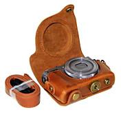 キヤノンのPowerShot G9 xのショルダーストラップ付きdengpin®PUレザーカメラケースバッグカバー(アソートカラー)