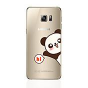 Funda Para Samsung Galaxy S8 Plus S8 Diseños Cubierta Trasera Oso Panda Suave TPU para S8 Plus S8 S7 edge S7 S6 edge plus S6 edge S6