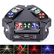 U'King LED舞台照明 DMX 512 マスタースレーブ 音活性化 オートマチック 音楽シンクロ作動 60 のために 家庭向け ステージ ウェディング クラブ 屋外 パーティー