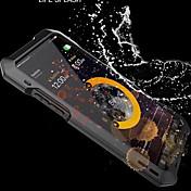 Funda Para Apple iPhone X iPhone 8 Agua / Polvo / prueba del choque Funda de Cuerpo Entero Armadura Dura Metal para iPhone X iPhone 8