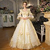 063cbef8b5 Hercegnő Elizabeth királynő Viktorijanski Rokokó Barokk 18. század  Szögletes Jelmez Női Ruhák Felszerelések Jelmez Bulikra