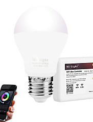 6W Smart LED-lampe 20 SMD 5730 600 lm Varm hvid Hvid Infrarød sensor Fjernstyret WIFI Lysstyring Dæmpbar Vekselstrøm 85-265 V 1 stk. E27