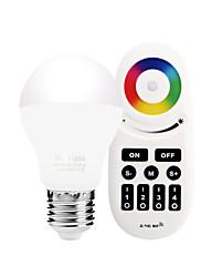 6W Smart LED-lampe A60(A19) 20 SMD 5730 600 lm Varm hvid Hvid Dual lyskilde farveInfrarød sensor Fjernstyret WIFI APP kontrol Lysstyring