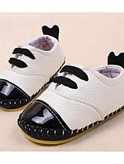 赤ちゃん 靴 合成マイクロファイバーPU 秋 冬 コンフォートシューズ 赤ちゃん用靴 スニーカー 用途 カジュアル ホワイト Brown レッド