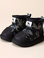 女の子 靴 レザーレット 冬 スノーブーツ ローファー&スリップアドオン ブーティー/アンクルブーツ 用途 カジュアル レッド グリーン ブルー