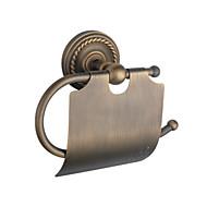 Toiletrulleholder / Antik Messing Antik