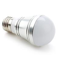 billige Globepærer med LED-1pc 3.5 W 200-250LM E26 / E27 LED-globepærer 9 LED perler SMD 5730 Varm hvit / Kjølig hvit / Naturlig hvit 110-240 V / 12 V