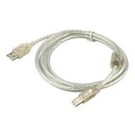 USB 2.0 عالية السرعة برقية إلى الطابعة ب للكمبيوتر (5.9ft، 1.8m)