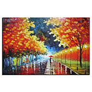 billiga Topp Konstnär-HANDMÅLAD Landskap En panel Kanvas Hang målad oljemålning For Hem-dekoration