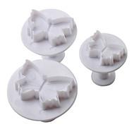 billige Kjeksverktøy-Bakeware verktøy Plast Ferie / GDS Kake / Til Småkake / For Småkake Bakeform