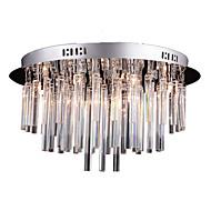 baratos -SL® 10-luz Montagem do Fluxo Luz Ambiente - Cristal, 110-120V / 220-240V Lâmpada Incluída / G4 / 40-50㎡