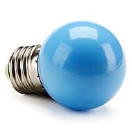 billige Globepærer med LED-50lm E26 / E27 LED-globepærer G45 LED perler Høyeffekts-LED Blå