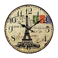 Euro Land Wall Clock